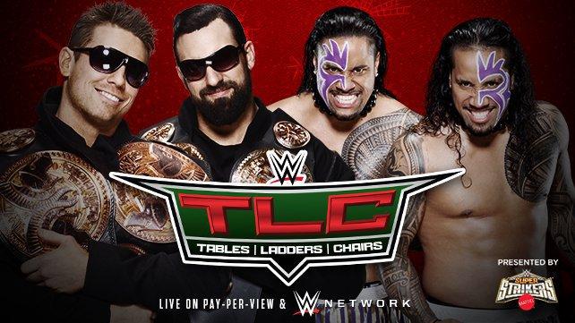 Матч за таг-тим титулы на TLC