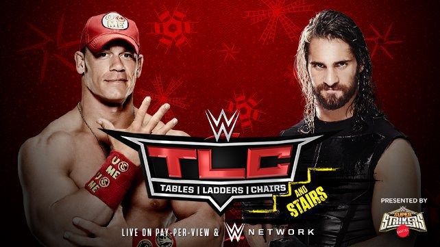 John Cena vs. Seth Rollins at WWE TLC 2014