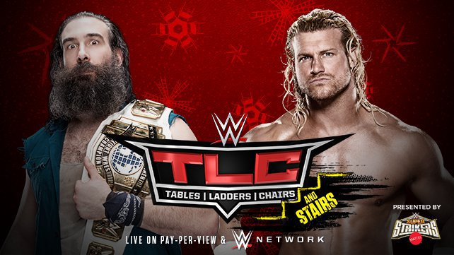 Intercontinental Champion Luke Harper vs. Dolph Ziggler in a Ladder Match
