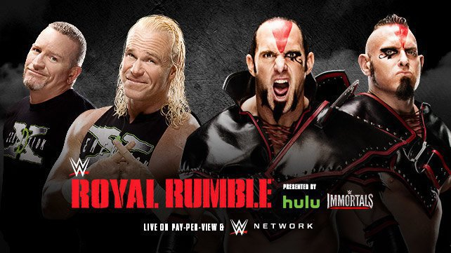 The New Age Outlaws vs. The Ascension at Royal Rumble 2015