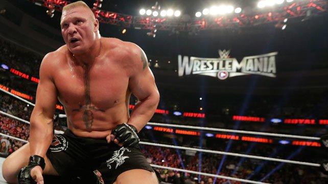 Брок Леснар, рестлинг, WWE