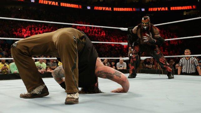 Bray Wyatt met The Boogeyman