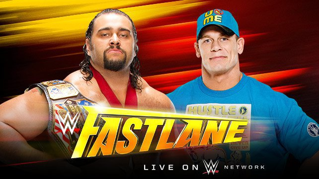 U.S. Champion Rusev vs. John Cena at WWE Fast Lane