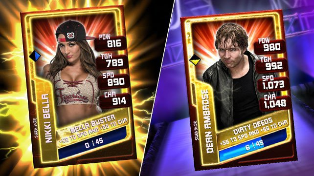 2K's WWE SuperCard Adds Fusion Chamber and New Card Packs