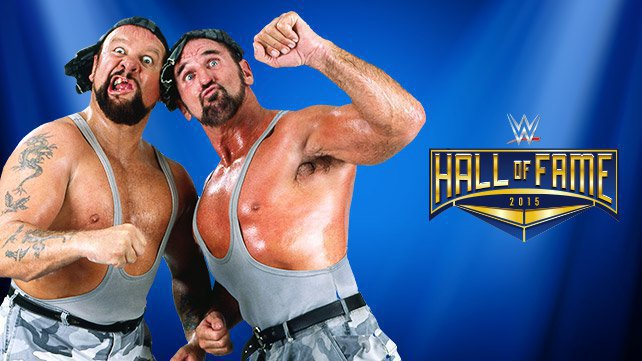 The Bushwhackers join the WWE Hall of Fame Class of 2015
