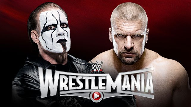 Sting takes on Triple H at WrestleMania 31