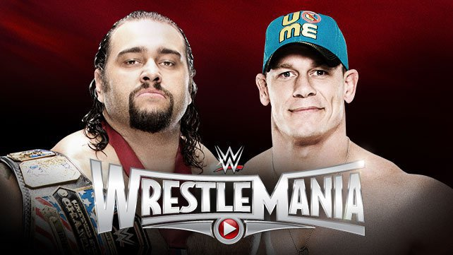 United States Champion Rusev vs. John Cena at WrestleMania 31