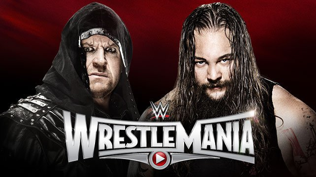 The Undertaker vs. Bray Wyatt na Wrestlemania 31