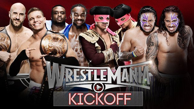 WWE Tag Team Championship Fatal 4-Way at WrestleMania Kickoff