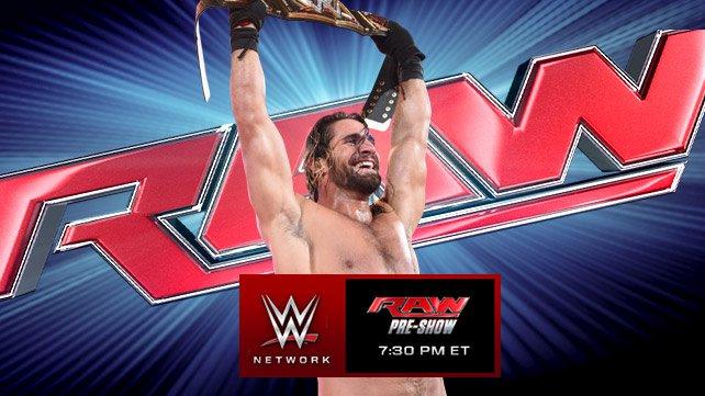 Confirmações para a Raw de hoje!