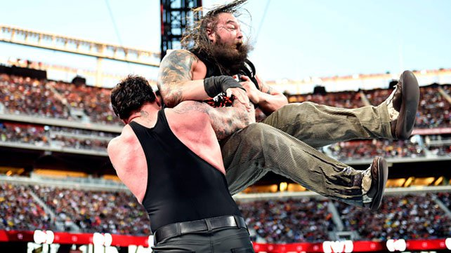 The Undertaker defeated Bray Wyatt at WrestleMania 31.