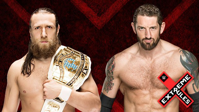 Intercontinental Champion Daniel Bryan vs. Bad News Barrett at Extreme Rules 2015