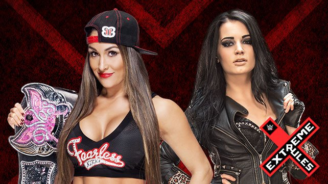 Divas Champion Nikki Bella takes on Paige at Extreme Rules