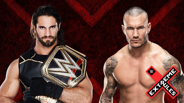 WWE World Heavyweight Champion Seth Rollins vs. Randy Orton at Extreme Rules