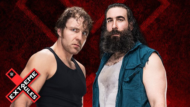 Dean Ambrose vs. Luke Harper in a Chicago Street Fight at Extreme Rules