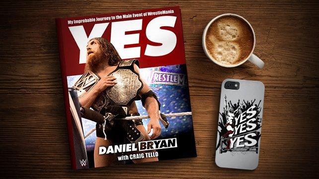WWE disponibiliza primeiros capítulos de livro de Daniel Bryan