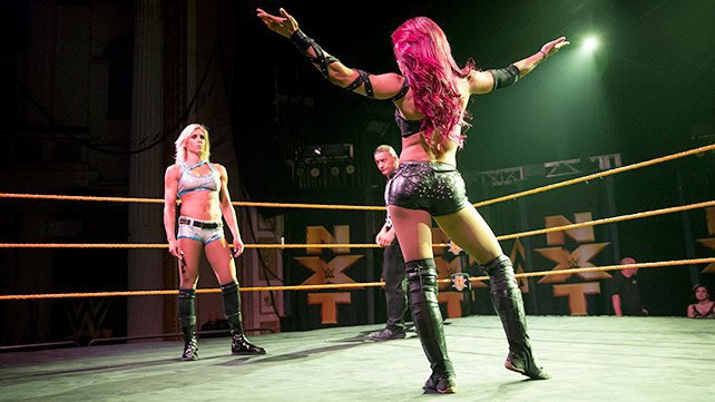 Sasha Banks takes on Charlotte in the main event of NXT's Philadelphia debut
