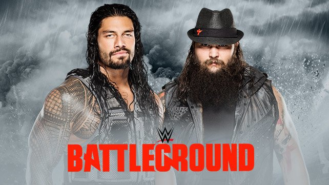 Roman Reigns vs. Bray Wyatt at WWE Battleground