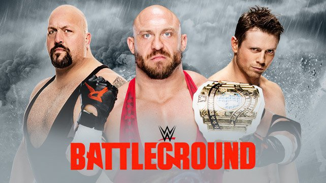 Confirmed and Potential Matches for WWE Battleground 2015 20150614_Battleground_LIGHT_matches-HP_RybackBigShowMiz