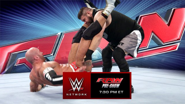 Kevin Owens' Pop-up Powerbomb to Cesaro