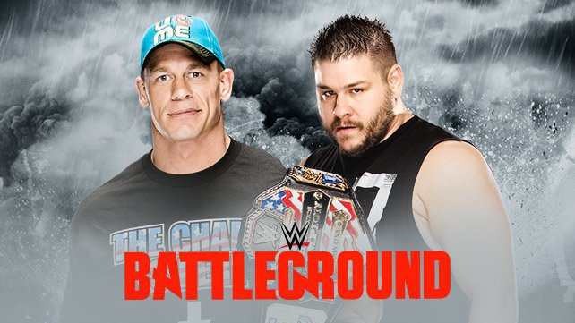Confirmed and Potential Matches for WWE Battleground 2015 Art