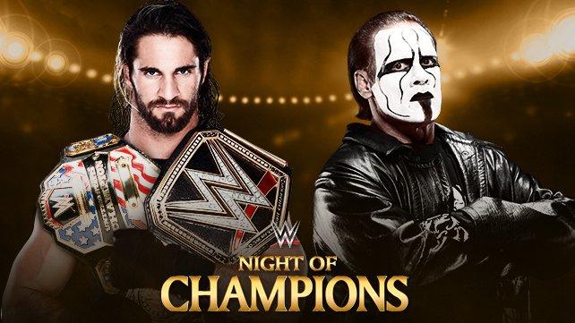 WWE World Heavyweight Champion Seth Rollins vs. Sting