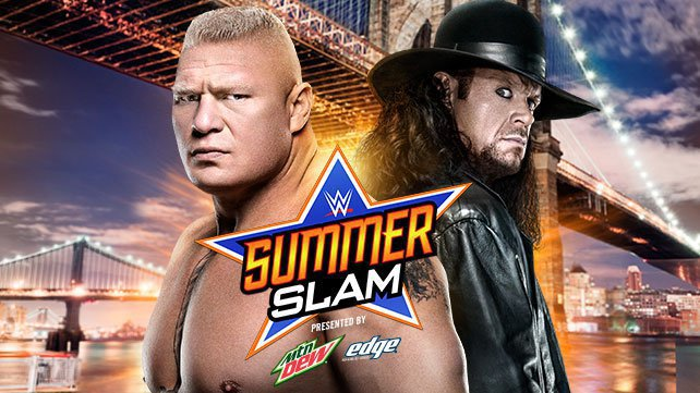 Taker vs Lesnar