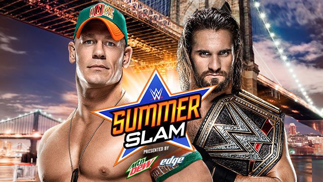 U.S. Champion John Cena vs. WWE World Heavyweight Champion Seth Rollins