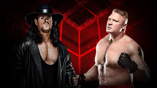 The Undertaker vs Brock Lesnar em um inferno ia Jogo celular na WWE Hell in a Cell