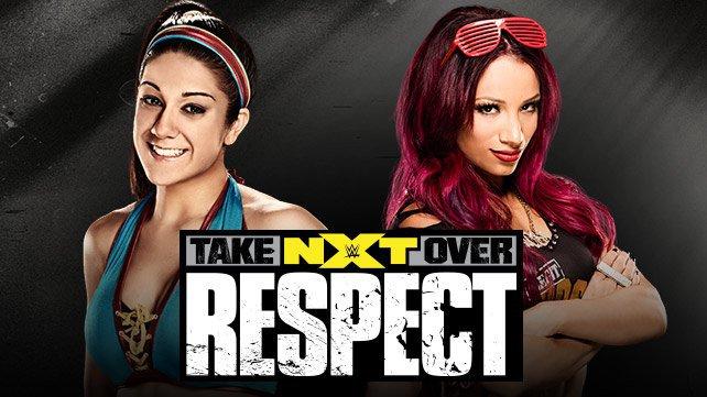 NXT Women's Champion Bayley vs. Sasha Banks
