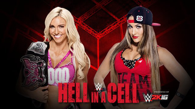 Confirmed and Potential Matches for WWE Hell in a Cell 2015 20151005_HIAC_nikkicharlotte_EP_Lights-hp