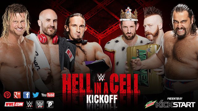 Confirmed and Potential Matches for WWE Hell in a Cell 2015 20151016_HIAC_KickOff_EPLights_HP