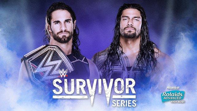 WWE World Heavyweight Champion Seth Rollins vs. Roman Reigns