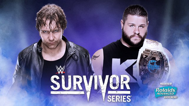 Dean Ambrose vs. Intercontinental Champion Kevin Owens at Survivor Series